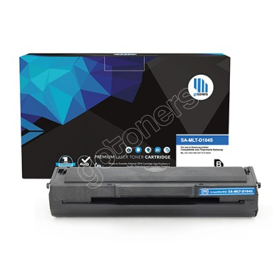 Gotoners™ Samsung New Compatible MLT-D104S Black Toner, Standard Yield