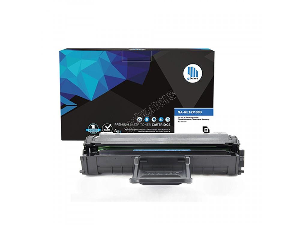 Gotoners™ Samsung New Compatible MLT-D108S Black Toner, Standard Yield