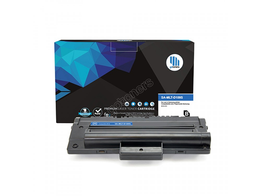 Gotoners™ Samsung New Compatible MLT-D109S Black Toner, Standard Yield