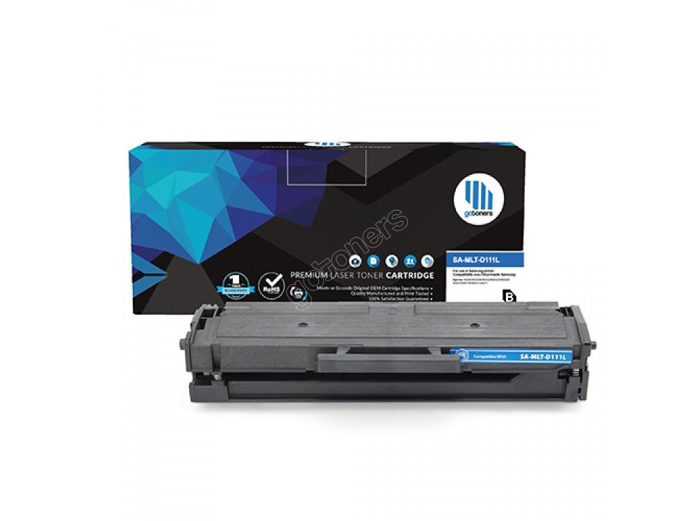 Gotoners™ Samsung New Compatible MLT-D111L Black Toner, High Yield
