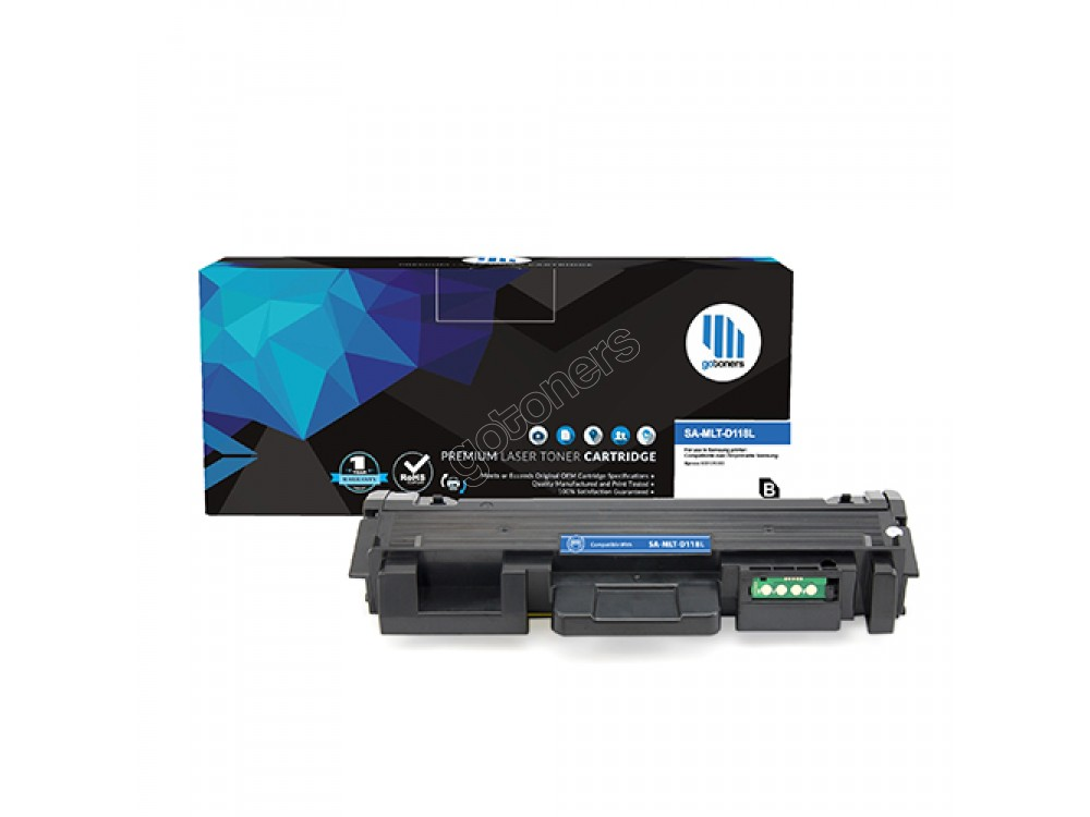 Gotoners™ Samsung New Compatible MLT-D118L Black Toner Cartridge, High Yield
