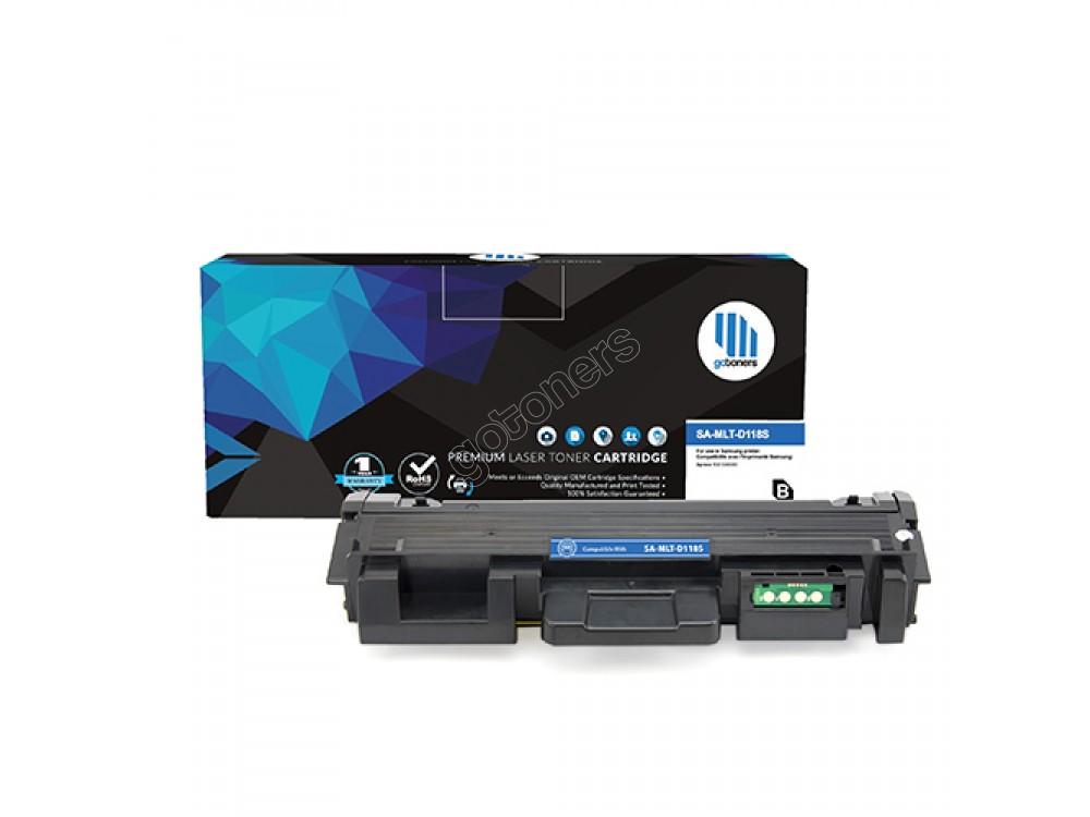 Gotoners™ Samsung New Compatible MLT-D118S Black Toner Cartridge, Standard Yield