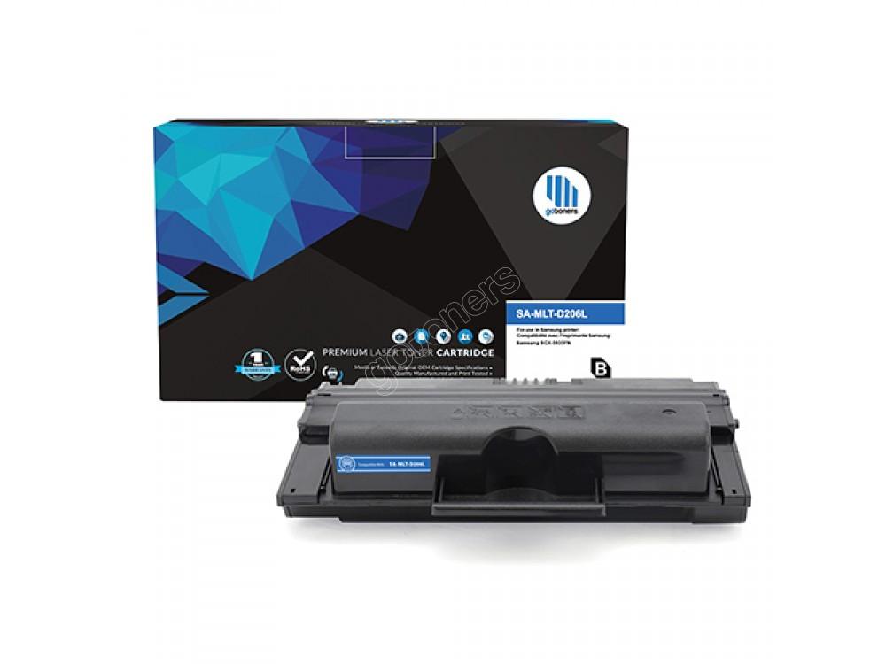 Gotoners™ Samsung New Compatible MLT-D206L Black Toner, High Yield