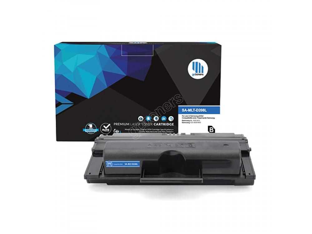 Gotoners™ Samsung New Compatible MLT-D208L Black Toner, High Yield