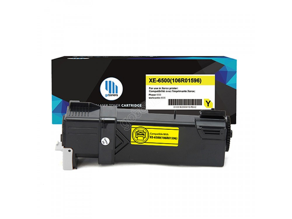 Gotoners™ Xerox New Compatible 106R01596 (6500) Yellow Toner Cartridge, High Yield