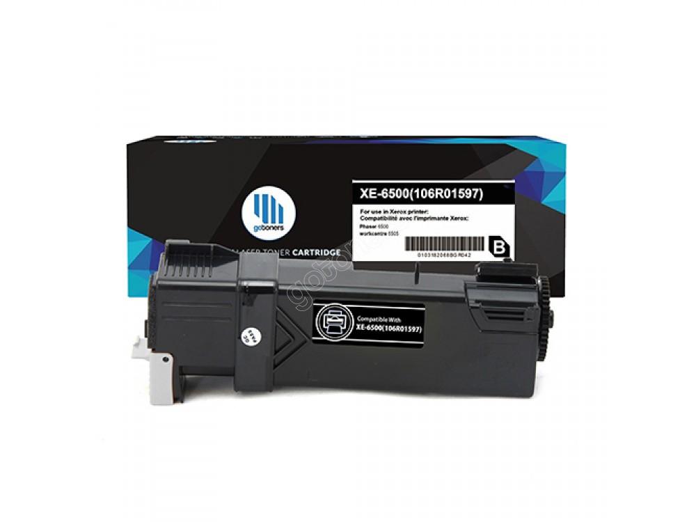 Gotoners™ Xerox New Compatible 106R01597 (6500) Black Toner Cartridge, High Yield