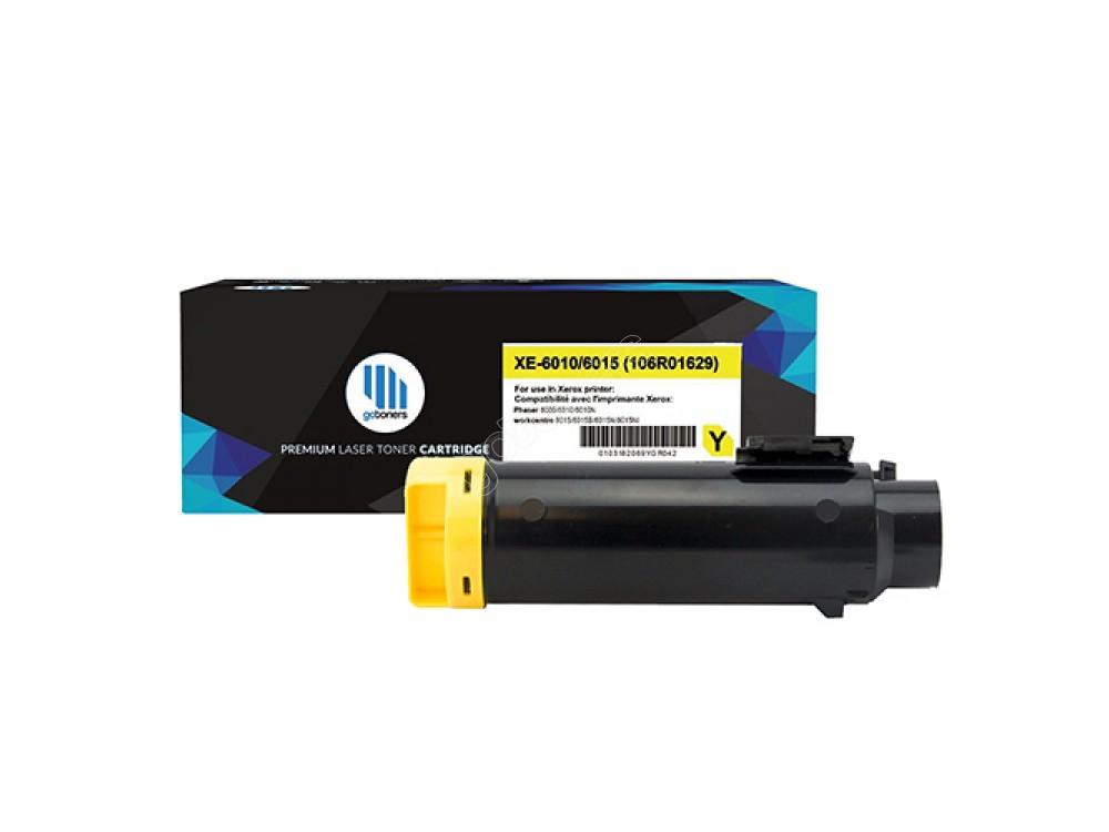 Gotoners™ Xerox New Compatible 106R01629 (6010/6015) Yellow Toner Kit, Standard Yield