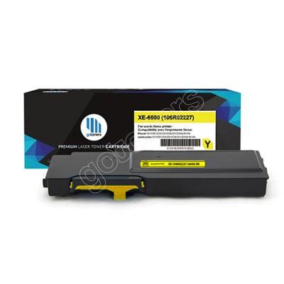 Gotoners™ Xerox New Compatible 106R02227 (6600) Yellow Toner Kit, High Yield