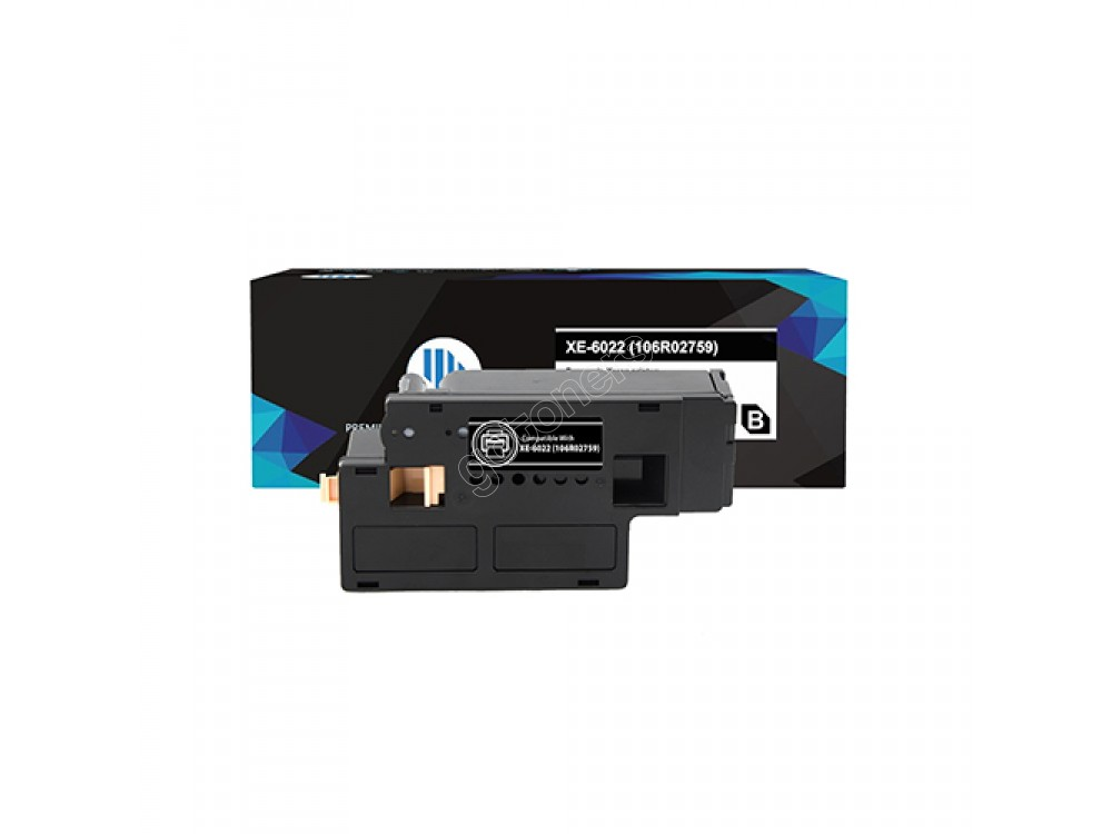 Gotoners™ Xerox New Compatible 106R02759 (6020/6025/6022/6027) Black Toner Kit, Standard Yield